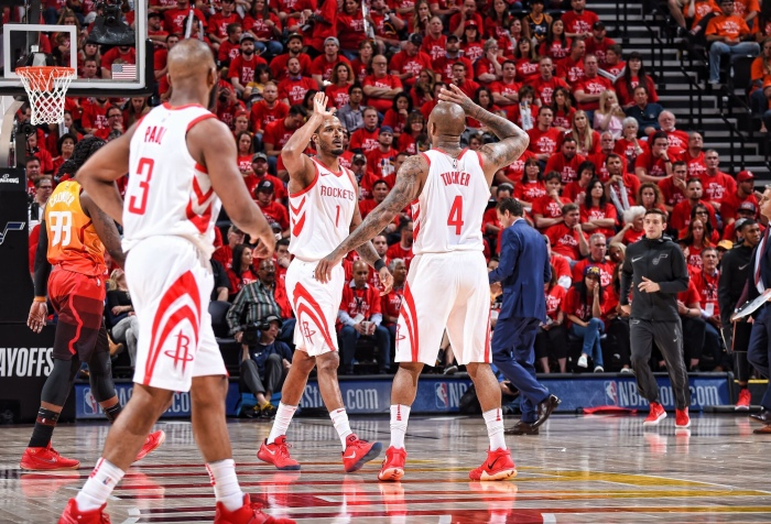 ad251c390af The Rockets give the business to the Jazz to go up 2-1 – Jump In The Full  Court Press!